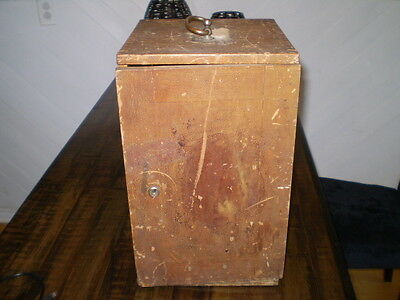 Carl Zeiss Jena Nr. 208905 Microscope with Original Wooden Case Circa 1913
