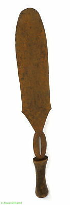 Poto Knife Iron Blade Ceremonial Currency Congo African Art