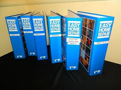 6 Easy Home Repair Book Binders Full Of Home Improvement Diy Instructions 1-13