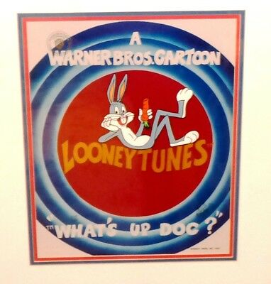 Bugs Bunny What's Up Doc Limited Edition Animation Cel #539/750 w/ COA