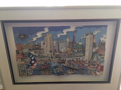 Stephen Szynal's 3-D Art Baltimore Inner Harbor rare limited edition