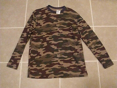 Camoflauge Long Sleeve Thermal Underwear Mens Shirt Size Small $12