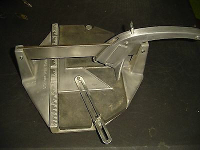 """VINTAGE! Superior No 1 Tile Cutter Made in the USA 6""""X6"""" Tile"""