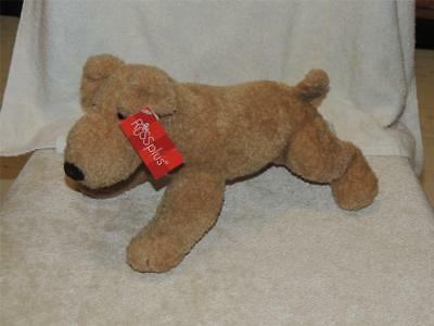 Russ Russplus Bowser Brown Tan Terrier with TAG Puppy Dog Airdale Irish