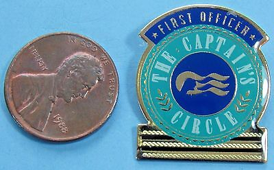 PIN vtg Princess Cruise Line - The CAPTAIN'S Circle - FIRST Officer