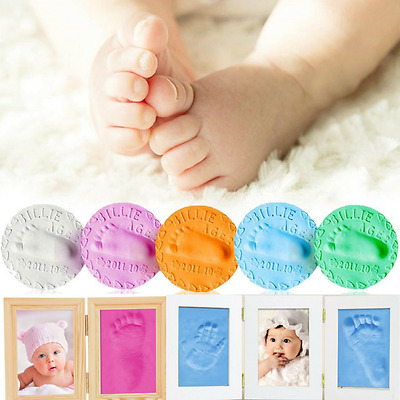 Baby Air Drying Soft Clay Baby Handprint Footprint Imprint Kit Casting Unisex