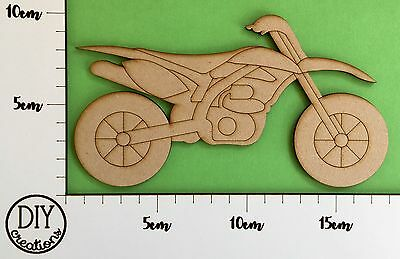 MDF Dirt Bike - CLEARANCE - DIY Decor for Adults and Kids