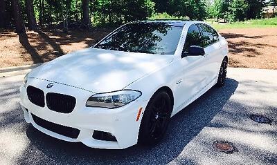 2013 BMW 5-Series  2013 BMW 550I 5 Series Sedan M Sport Showroom Condition