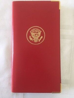 Charing Cross Pocket Address Book Bonded Leather Presidential Inauguration Gift