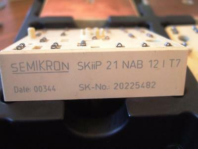 Semikron IGBT Module - Skiip 21NAB12IT7- Stock No. - 20225482 -  21 NAB 12 I T7