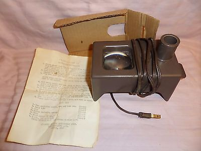 Vintage Scan O Matic Lighted Coin Viewer & Magnifier - Working & In Original Box