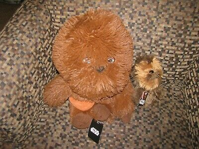"Star Wars Chewbacca 7"" Plush Disney Lucasfilm New With Tag Comic Images"