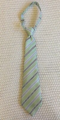 Janie and Jack Light Green Stripe Neck Tie Boys 1 2 3 Years NWT HTF $26