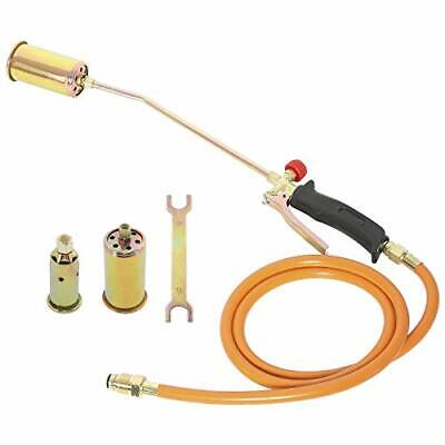 Portable Propane Torch w/Nozzles Ice Snow Melter Lawn Landscape Weed Burner