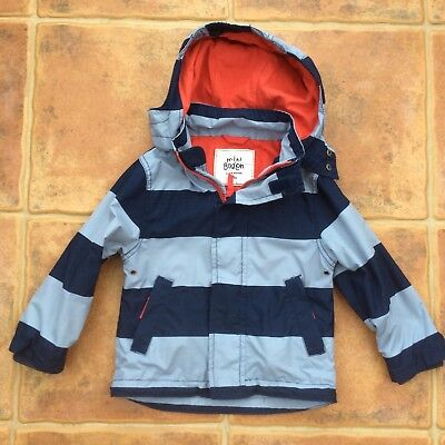 Boys mini boden lightweight hooded coat jacket size age 2 for Mini boden germany