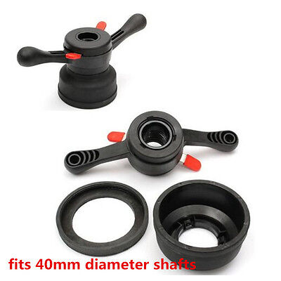40mm Wheel Balancer Quick Release Wing Nut & Pressure Cup Hub Shaft Nut