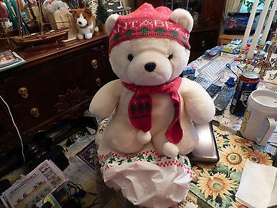 1985  Original  Dayton Hudson Santa Bear.......the Very First One From Dayton