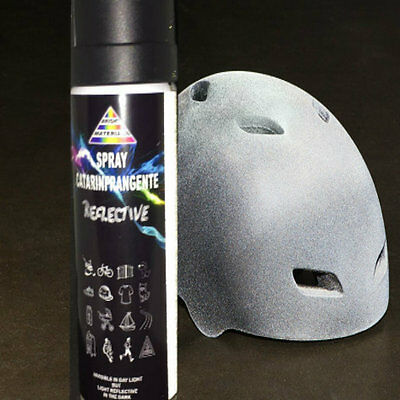 Vernice Spray catarifrangente permanente silver reflective ml 400 SALVAVITA new