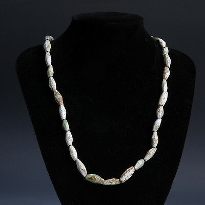 Egyptian Middle Kingdom Facetted Bead Necklace