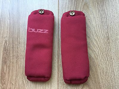 Quinny Buzz 3/4 Shoulder Pads Red  NEW STYLE