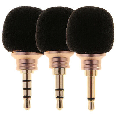 Mini 3.5mm Jack Voice Mic Microphone For Recorder Smart Phone Cell Phone