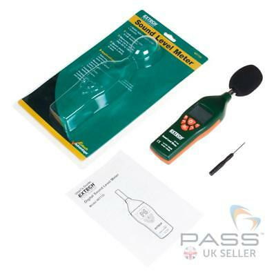 NEW Extech 407732 Type 2 Low/High Range Sound Level Meter / UK Stock