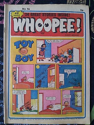 WHOOPEE! Comic - Issue No 16 - 1974 - UK Paper Comic