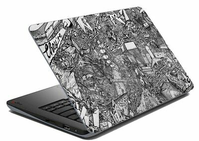 """Abstract Laptop Skin Notebook Skin Sticker Cover  Art Decal Fits 14.1"""" to 15.6"""""""