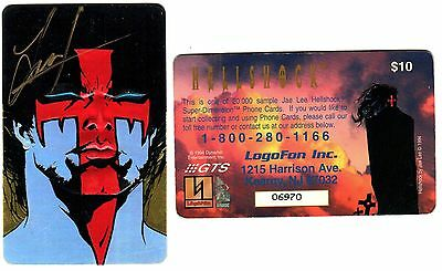 Hellshock prototype phone card [signed by ??]