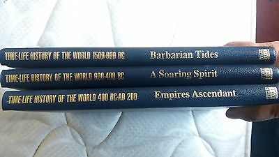 Time Life - History Of The World - 3 Books Collection!