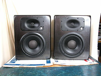 Jbl (1 Pair) Lsr 28P Professional Linear Spatial Reference Bi-Amplified Monitor