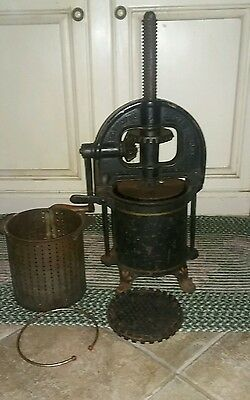 Vintage Enterprise Co Sausage Stuffer Fruit Presser No 25