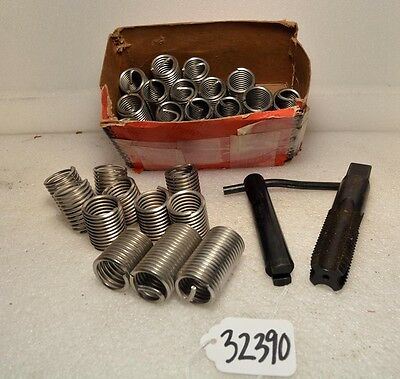 "HeliCoil Inserts, Tap, and Tool 1""- 8 TPI (Inv.32390)"