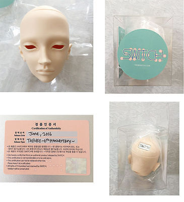 NEW SWITCH Taeheo blank head NS doll authentic head plate certificate box BJD