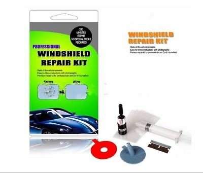 Windshield Repair Kit Quick Fix DIY Car Wind Glass For Bullseye Chip Crack Tool