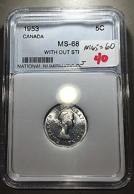CANADA 1953 5 Cents  ** FREE U.S. SHIPPING **   S112