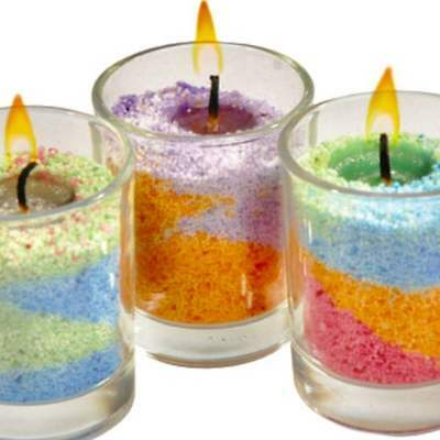 Candle Sand - Scented 100g + 2 Free Wicks Make Your Own Candle Kits