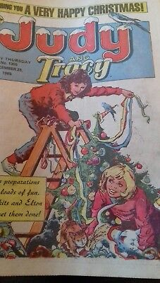 Judy & Tracy comic no 1355 - December  28th  1985