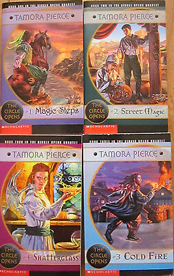 Complete Set of 4 The Circle Opens - 1-4 Lot by Tamora Pierce