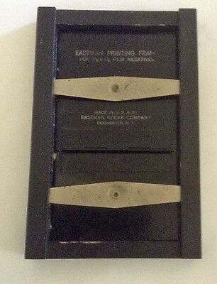 "Vintage Eastman Printing Frame for 2 1/2"" x 4 1/4"" Film Negatives"