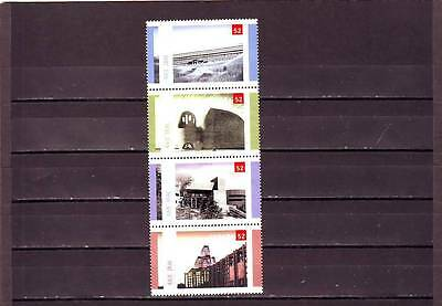 a128 - CANADA - SG2493-2496 MNH 2007 CENT ROYAL ARCHITECTURAL INSTITUTE
