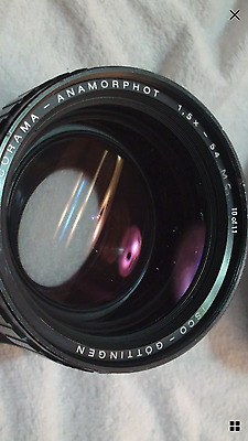 Iscorama 54 MC Anamorphic and Flare Factory FF58 Dog Schidt Optiks taking lens