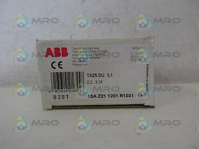 Abb Ta25Du3,1 Thermal Overload Relay *new In Box*