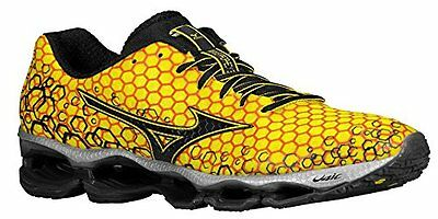 MIZUNO WAVE PROPHECY 3 Mens Running Shoes size 8 NEW YELLOW BLACK