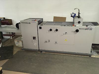 Standard Horizon VAC-100A Air-Feed Collator and SPF-20 + FC-20 Booklet Maker