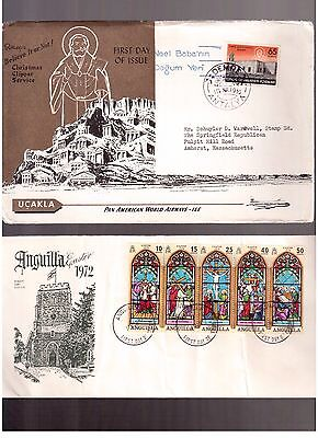 World, Lot Of 11 Different Fdc & Covers !!