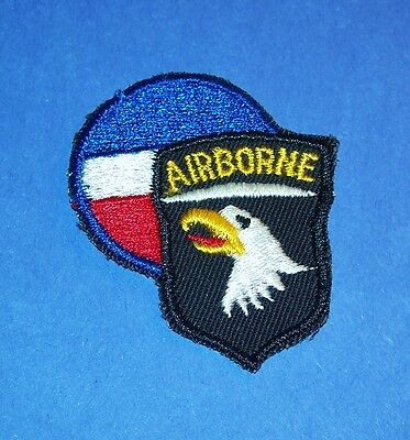 RARE ORIGINAL TWILL COLD WAR 101st AIRBORNE DIVISION CONARC PATCH VARIATION