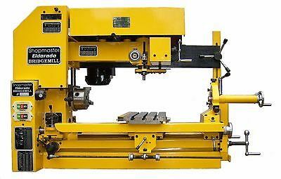 Shopmaster   Tri Power  3 In 1  Lathe  Mill Drill