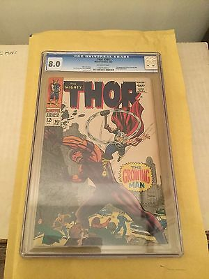 Marvel The Mighty Thor # 140 CGC 8.0 Very Fine
