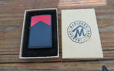 Marlboro Red Roof Zippo Lighter  -  sealed new - with box